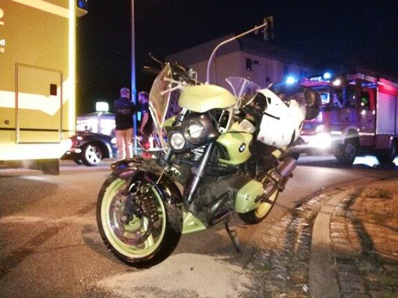 Der Unfall ereignete sich auf der Fürstenstraße in Chemnitz.