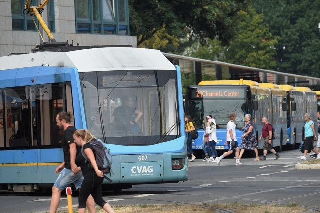 Nach wochenlangen Einschränkungen gilt ab kommender Woche im Chemnitzer Nahverkehr wieder weitgehend der Normalfahrplan.