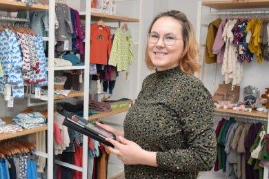 Einzelhändlerin Elise Zahn hat während des zweiten Lockdowns einen Onlinehandel aufgebaut.
