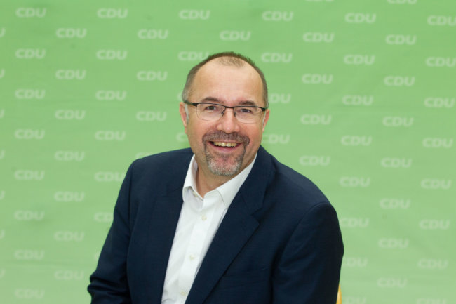 Kulturbürgermeister Steffen Zenner (CDU)