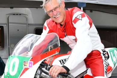 Fuhr 1979 bei der Motorrad-WM auf Rang 2: Rolf Blatter aus der Nähe von Bern, der jetzt auch in Mittelsachsen lebt.