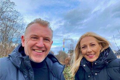 Machen seit dieser Woche die neue Morgenshow auf Hitradio RTL Sachsen: Uwe Fischer und Katja Möckel.