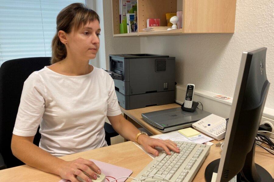 Olena Zaitseva ist die neue Hausärztin in Jahnsbach. Im März kommt dann auch noch ihr Mann als Mediziner in die Praxis.