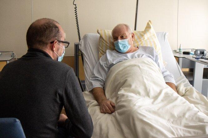Viele Patienten wünschen sich einfach ein offenes Ohr und sind für Gespräche sehr dankbar.