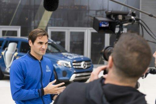 Roger Federer fiebert dem Laver Cup entgegen
