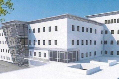 So ähnlich könnte das neue Gesundheitszentrum in Frankenberg aussehen.