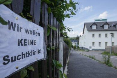 Kurz nach Bekanntwerden der Pläne für ein Suchtkrankenprojekt in Grüna im Frühjahr 2020 regte sich Widerstand im Ort.