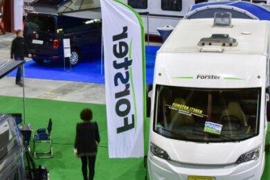 In der Messe Chemnitz werden Reisemobile und Caravans verschiedener Firmen und Händler aus Sachsen zu sehen sein.