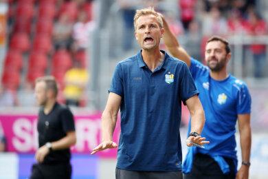 Sah sein Team erneut verlieren: der Chemnitzer Trainer David Bergner.