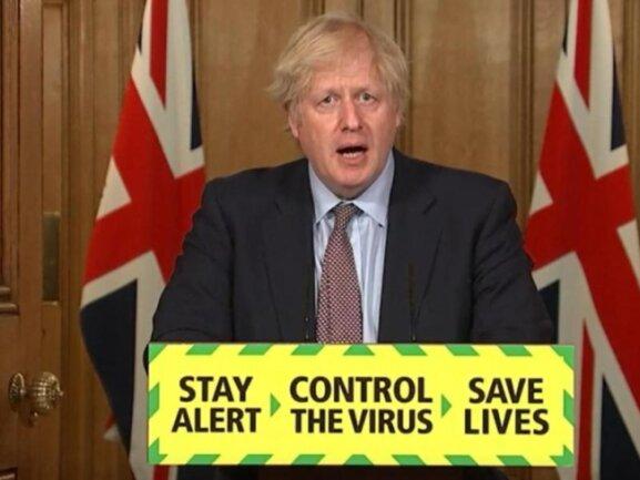 Die Regierung in London steht wegen ihres Umgangs mit der Coronavirus-Pandemie seit Monaten stark in der Kritik.