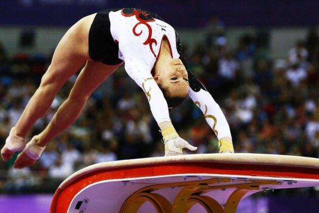 Sophie Scheder - Sophie Scheder zeigte international den bisher besten Vierkampf ihrer Karriere.