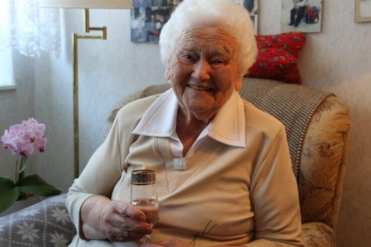Dorothea Teichert aus Grünberg feiert am heutigen Donnerstag ihren100. Geburtstag.