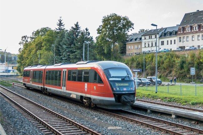 In Marienberg in den Zug steigen - wie hier 2019 auf Sonderfahrt zum Bergfest nach Pobershau - das funktioniert derzeit nicht.