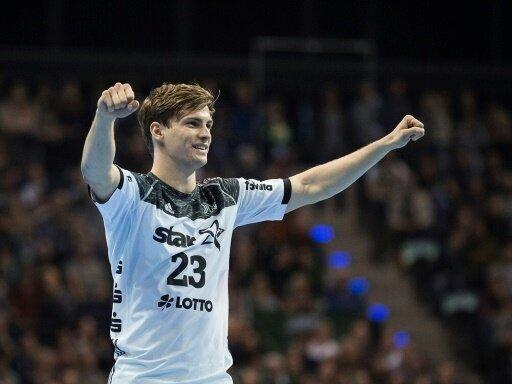 Rune Dahmke steht mit dem THW Kiel im Pokal-Achtelfinale