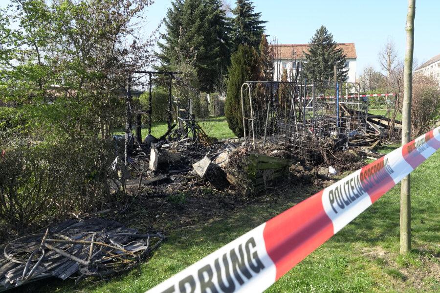 Kleingarten offenbar erneut Ziel von Brandstiftern