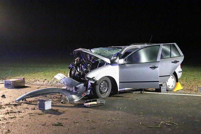 Ehepaar stirbt nach schwerem Unfall in Mittelsachsen