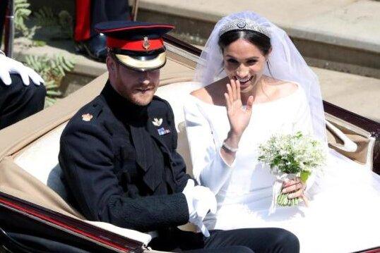 Meghan Markle und Prince Harry haben geheiratet