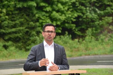 Am Samstag wurde in Markneukirchen entschieden: Der Landtagsabgeordnete Sören Voigt aus Falkenstein bleibt Kreisvorsitzender der CDU im Vogtland.