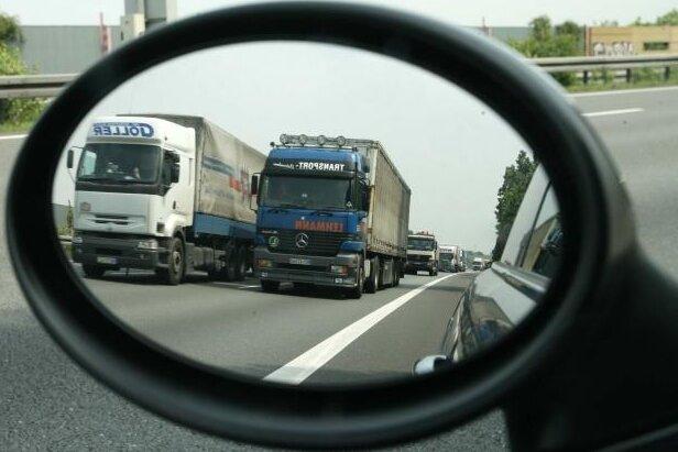 Staustrecke: Amt ändert auf A 4 Verkehrsführung