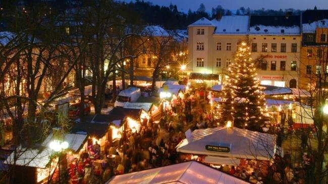 Der Auerbacher Weihnachtsmarkt