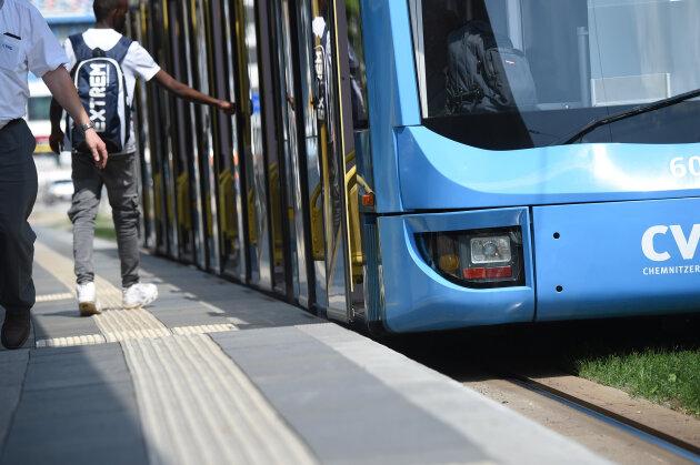 Unfall sorgt für Behinderungen im Chemnitzer Straßenbahn-Betrieb