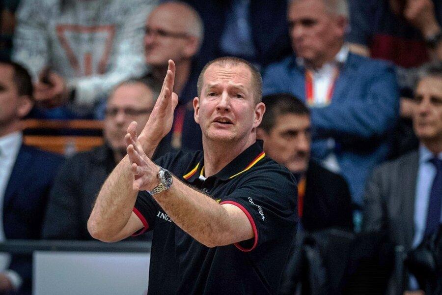 Bundestrainer Henrik Rödl traut den Niners den Klassenerhalt zu.