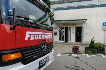 Die Feuerwehr belüftete schnell das Gebäude.