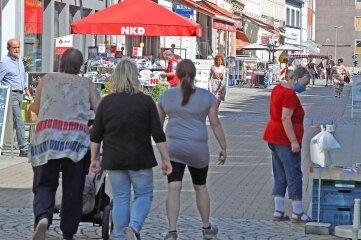 In Crimmitschau wird über die Einführung eines Einkaufsgutscheins nachgedacht.
