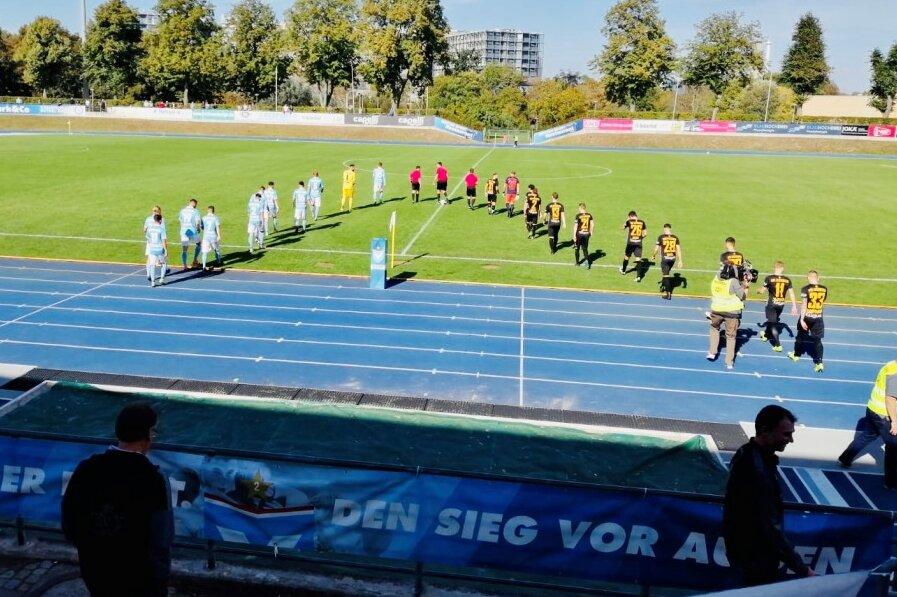 VfB Auerbach kann Partie gegen FC Viktoria Berlin nicht drehen