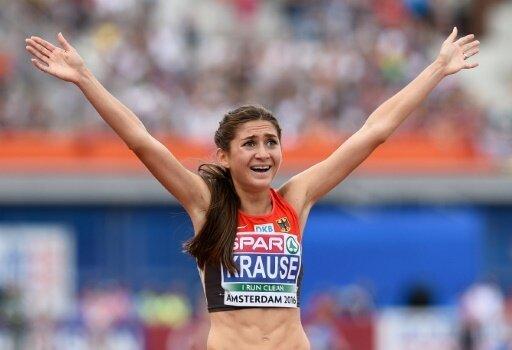 Gesa Felicitas Krause will ihren Rekord noch toppen