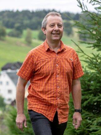 Sebastian Nestler ist in Neudorf zu Hause, hat aber als Kandidat für das Bürgermeisteramt alle Sehmataler Ortsteile im Blick.