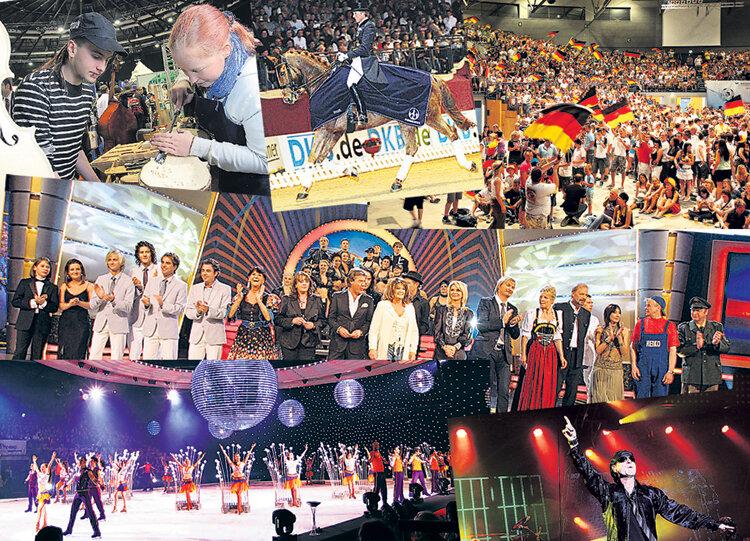 """<p class=""""artikelinhalt"""">Zum Programm der Stadthalle gehören neben Konzerten auch Veranstaltungen wie Messen, die Pferdenacht oder Holiday on Ice. </p>"""