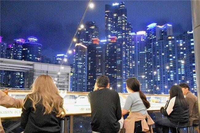 Die Hafenstadt Busan ist mit 3,5 Millionen Einwohnern die zweitgrößte Metropole Südkoreas.