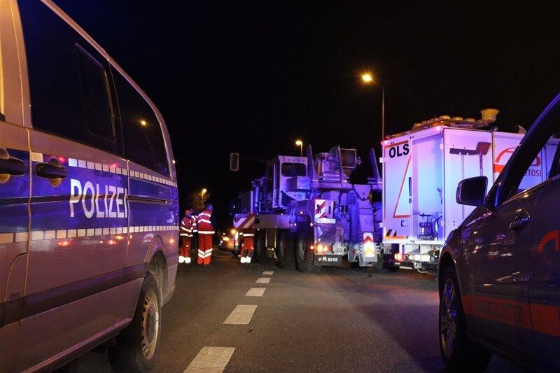 Lkw-Unfall an der B 169