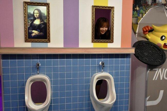 Humor auf Koreanisch: Im Poo Poo Land in Seoul kennt man keine Tabus.