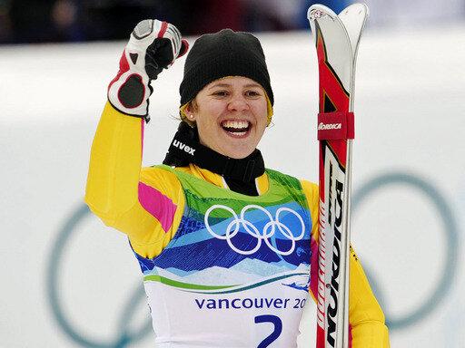 Sensation-Gold für Viktoria Rebensburg