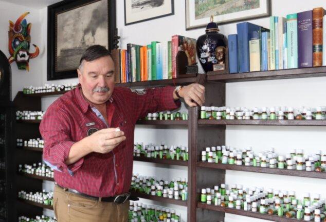 Michael Weiske widmet sich in seiner neuen Praxis nun hauptsächlich der Homöopathie.