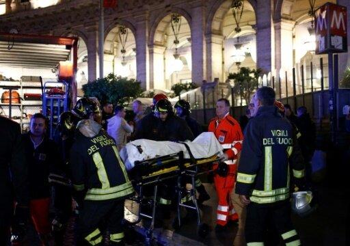 Rolltreppen-Unfall: Mehrere Verletzte