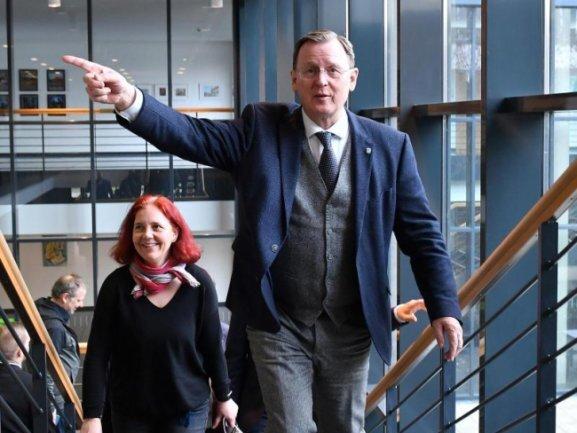 Bodo Ramelow kann wohl doch auf die Wahl zum Thüringer Regierungschef hoffen.