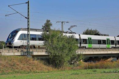 Die Bahn plant auch den Neubau der Brücke über die Pleiße im Ortsteil Frankenhausen.