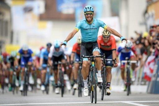 Omar Fraile gewinnt erste Etappe der Tour de Romandie