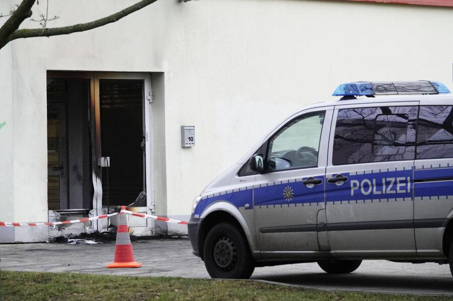 Brand vor Szeneladen in Chemnitz - LKA ermittelt