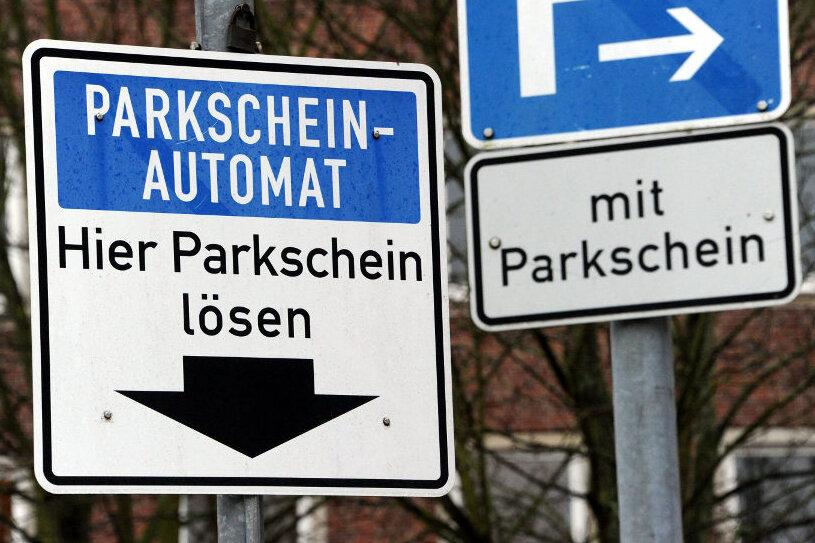 Gemeinde Bärenstein reduziert Automaten fürs Parken