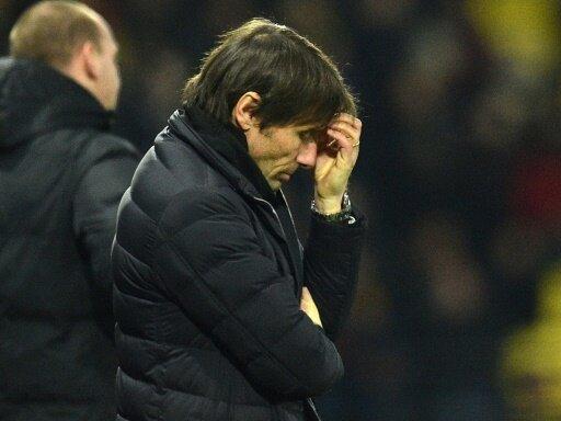 Chelsea-Trainer Conte sah eine schwache Leistung