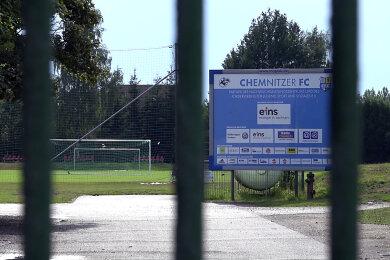 Dem CFC-Nachwuchsleistungszentrum am Neubauernweg droht das baldige Aus.