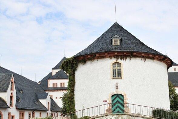 Das Brunnenhaus der Augustusburg.