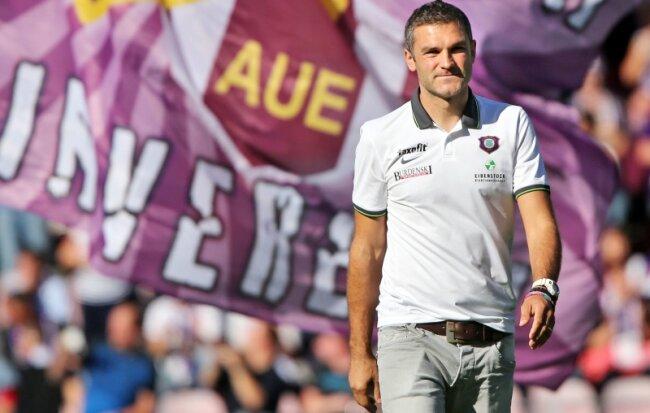 Kann in Leipzig auf die Unterstützung von rund 4000 Auer Fans bauen: Trainer Tomislav Stipic, der die Gäste in der Außenseiterrolle sieht.