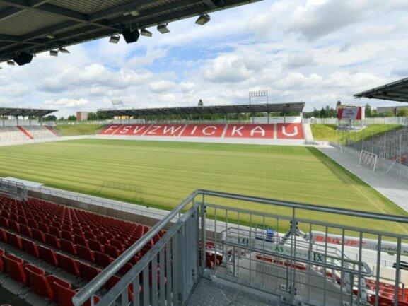 Das Stadion des FSV Zwickau.
