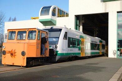 Mitte Dezember hatte die Vogtlandbahn zusätzliche Regio-Shuttles (Bild) in Dienst gestellt und dafür das Vorgängermodell Regio-Sprinter von den Gleisen verbannt. Dennoch kommt es zurzeit verstärkt zu technischen Problemen.