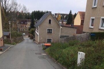Ab Montag ist die Wiesenstraße in Steinpleis Baustelle.